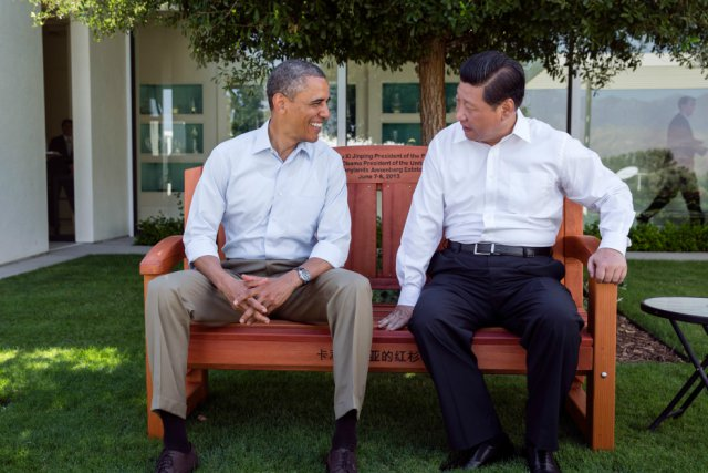 where did obama meet chinese president
