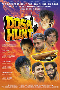 DOSA HUNT poster art
