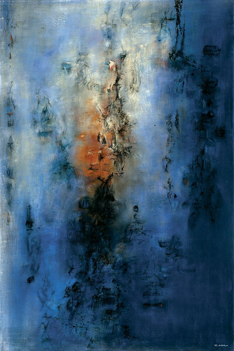 Asian Abstract Oil Paintings