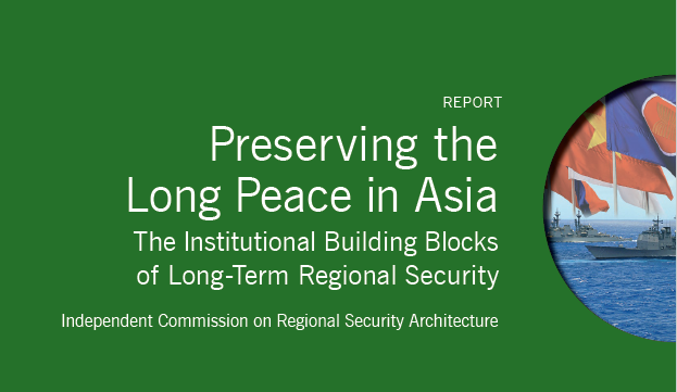 Preserving the Long Peace in Asia
