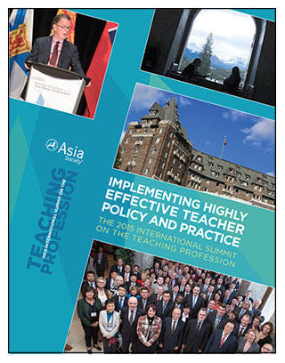 Report Cover: Implementing Highly Effective Teacher Policy and Practice