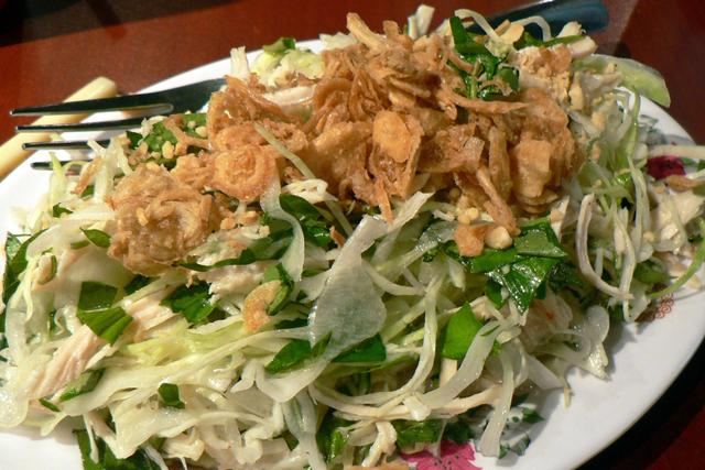 Vietnamese Chicken and Cabbage Salad (Photo by stu_spivack/flickr )