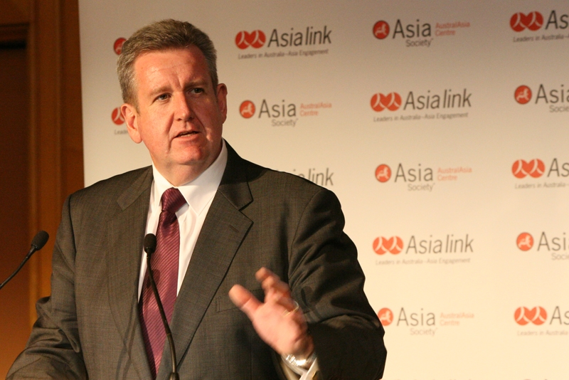 Barry O'Farrell MP, Leader of the New South Wales Liberals, in Sydney on Feb. 14, 2011.