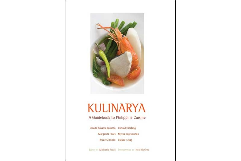 First published in October 2008, Kulinarya is now on its fifth printing.