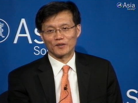 In New York on April 11, 2011, Dr. Changyong Rhee of the Asian Development Bank summarizes the Bank's largely positive outlook for short-term growth in Asia. (1 min., 17 sec.)