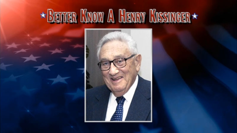"""Better Know A Henry Kissinger"" on the June 13, 2011 episode of The Colbert Report or Comedy Central."
