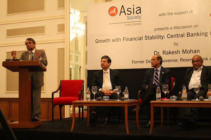 Rakesh Mohan, Uday Kotak, D. Subbarao, and Y.V. Reddy