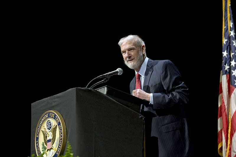 Yale University Sterling Professor of History Emeritus Jonathan Spence in Washington, DC in May 2010. (neh.gov)