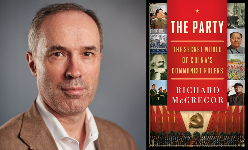 Richard McGregor, author of 'The Party.'