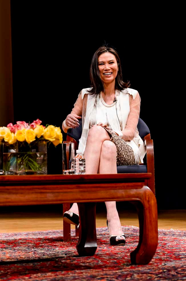 Wendi Murdoch, co-CEO of Big Feet Productions, at Asia Society New York on March 4, 2013. (C. Bay Milin/Asia Society)