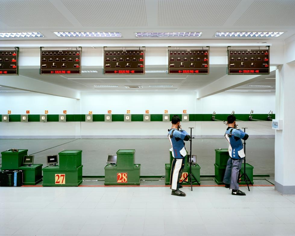 This shooting range was the location for the South East Asian (SEA) Games shooting competition in 2013. (Andrew Rowat)