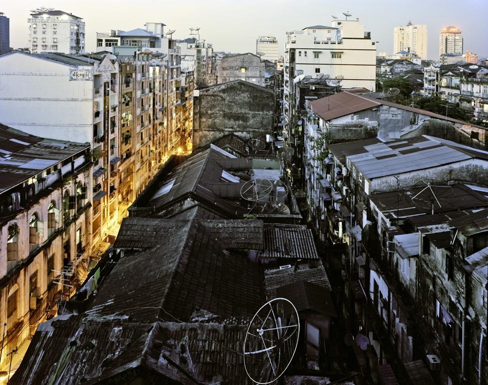 The historic downtown core of Yangon. (Andrew Rowat)
