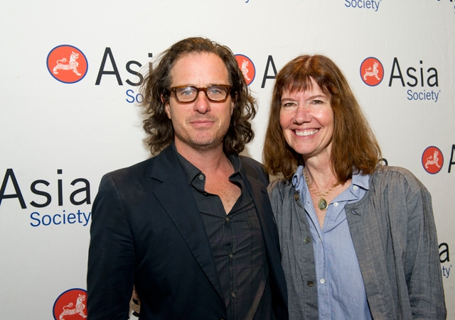 He Named Me Malala director Davis Guggenheim (L) and producer Diane Weyermann (R) (Elena Olivo/Asia Society)