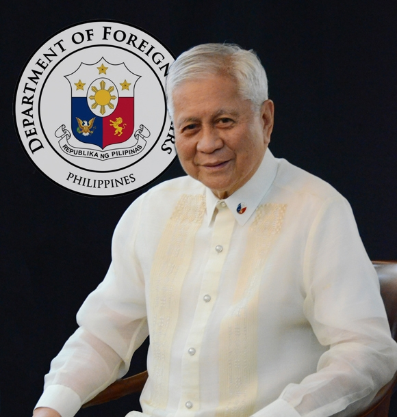 Albert de Rosario, Secretary of Foreign Affairs for The Philippines (Consulate of the Philippines)