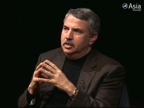 "In New York on Jan. 10, 2011, Thomas Friedman asks whether the US, compared with China, has lost its ""can-do"" spirit in the early 21st century. (3 min., 34 sec.)"