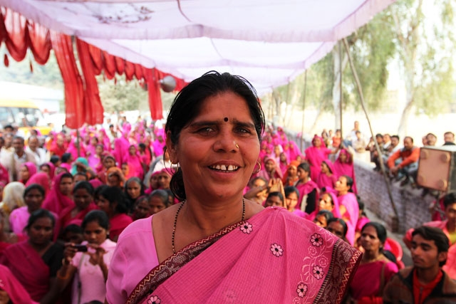Interview: Pink is Powerful as India's 'Gulabi Gang ...