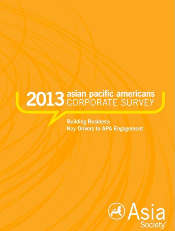 The 2013 Asian Pacific Americans Corporate Survey is Now Available on Amazon.