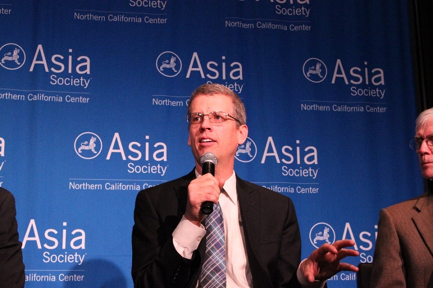 Drew Bohan of the California Energy Commission offers a comparative perspective about energy efficiency in California. (Asia Society)