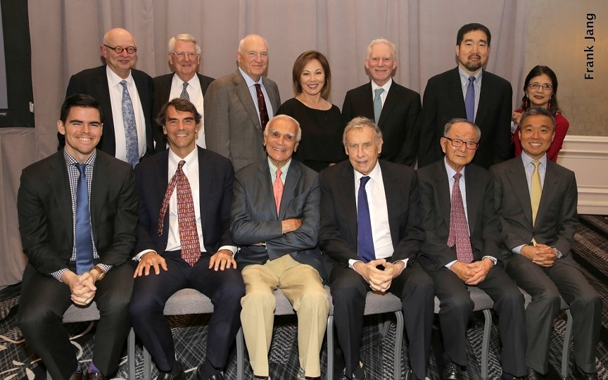 Annual Dinner Honorees and Board Members (Frank Jang Asia Society)
