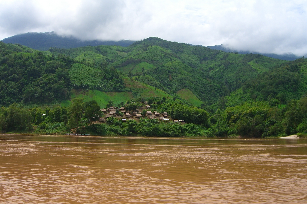 Mekong River, Laos.