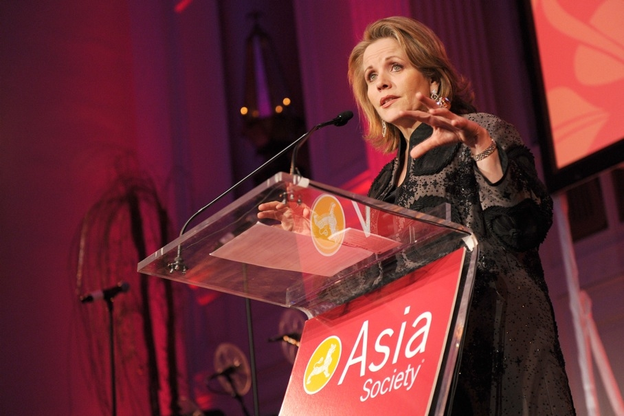 World-famous singer Renee Fleming, the evening's Honorary Chair, welcomed guests to the benefit. (Billy Farrell)