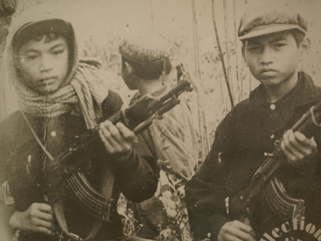 Khmer Rouge Soldiers (Taekwonweirdo/Flickr)