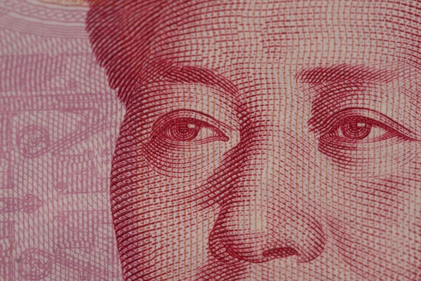 Detail view of China's 100 yuan note. (David Dennis/Flickr)