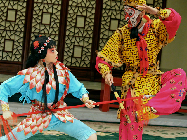 A Peking Opera production of Journey to the West (eviltomthai/Creative Commons)