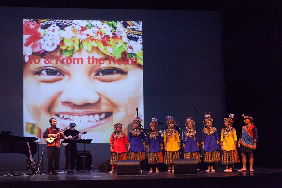 August 14 - Grammy-winner Daniel Ho and the Taiwu Children's Ancient Ballads Troupe performed music from their collaboration, To & From the Heart. (Lynn Lane)