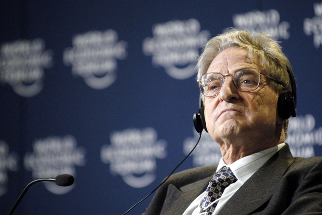 George Soros (World Economic Forum/flickr)