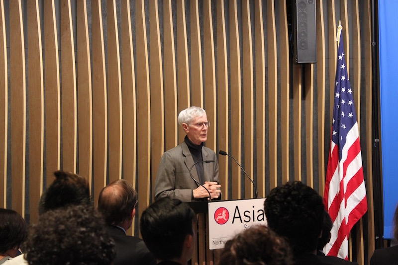 Orville Schell, Arthur Ross Director for the Center on U.S.-China Relations at Asia Society, gave a primer and joined the second panel. (Yiwen Zhang/Asia Society)