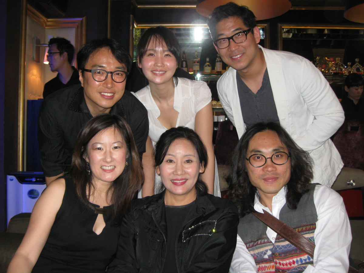Christine Yoo and her crew