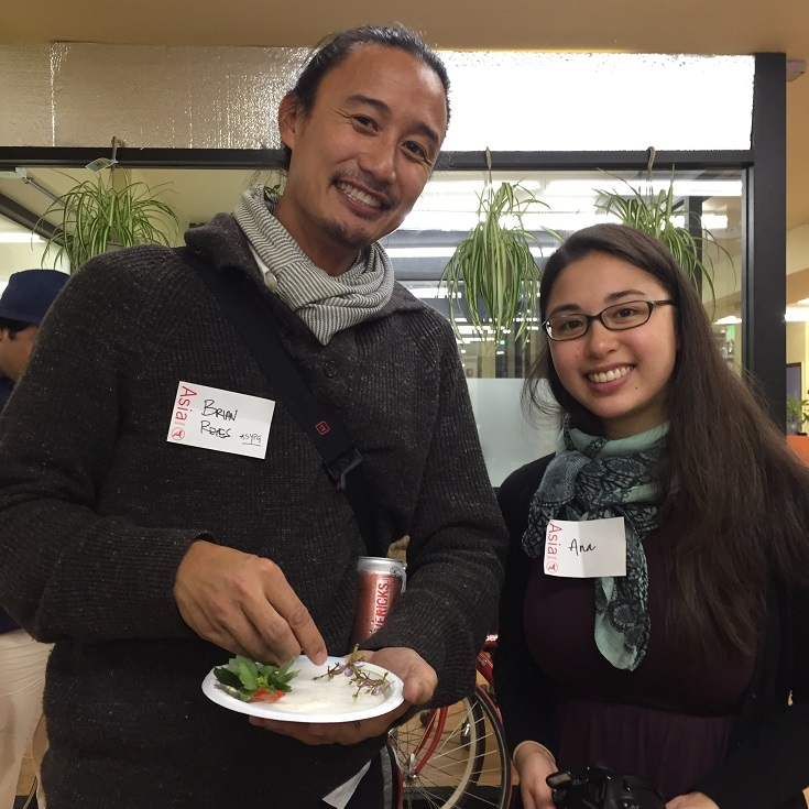 ASYPG Chair, Brian Reyes, and Ana Sycip of Give2Asia
