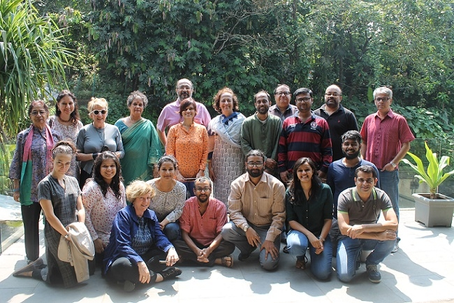 NVFS 12 Finalists, Mentors and Advisory Council at First Residential Workshop, Khandala