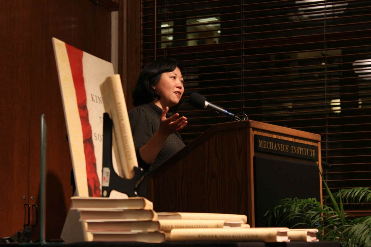 Yiyun Li, author of Kinder Than Solitude