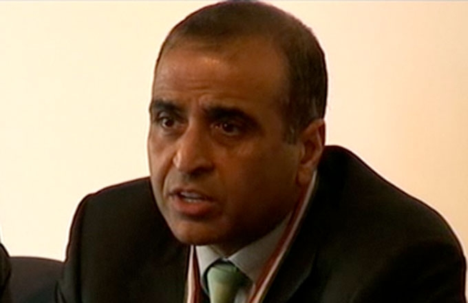 Sunil Bharti Mittal, immediate past president of CII, leader of delegation, and chairman and CEO, Bharti Enterprises.