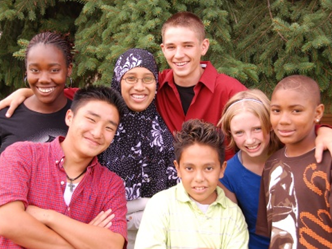 Students at the Denver Center for International Studies. Image courtesy of the school.