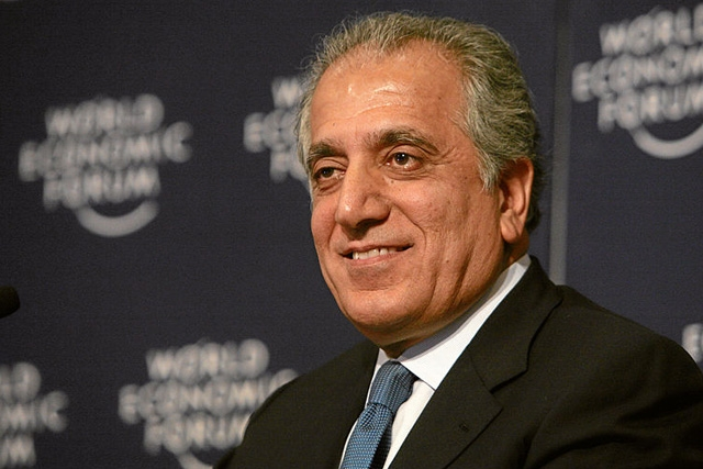 Zalmay Khalizad at the Annual Meeting 2008 of the World Economic Forum. (Photo by Worrd Economic Forum/flickr)