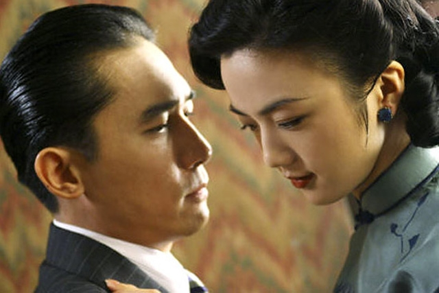 Tony Leung and Tang Wei in Ang Lee's Lust, Caution. (2007)