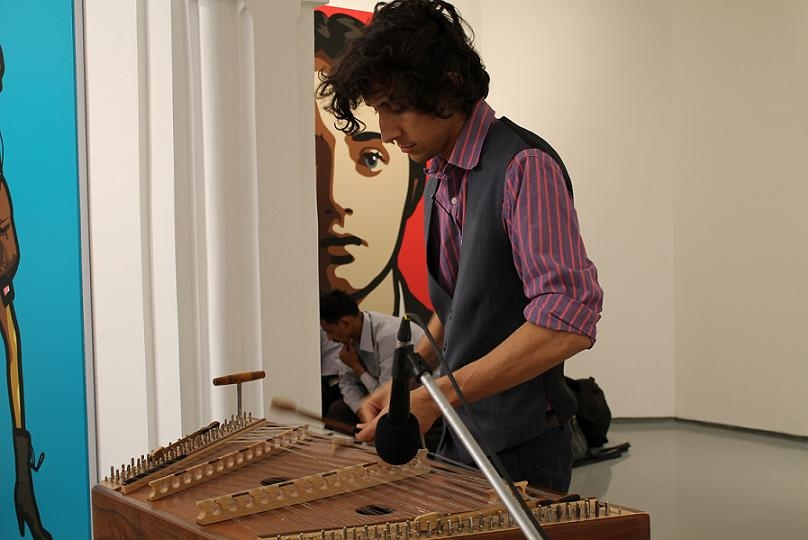 Max ZT, musician on the hammered dulcimer