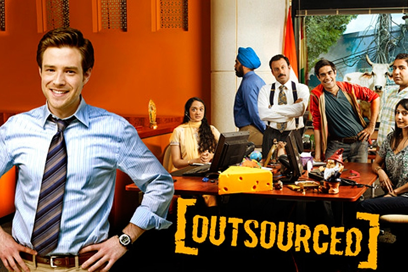 Outsourced, on NBC. (NBC.com)
