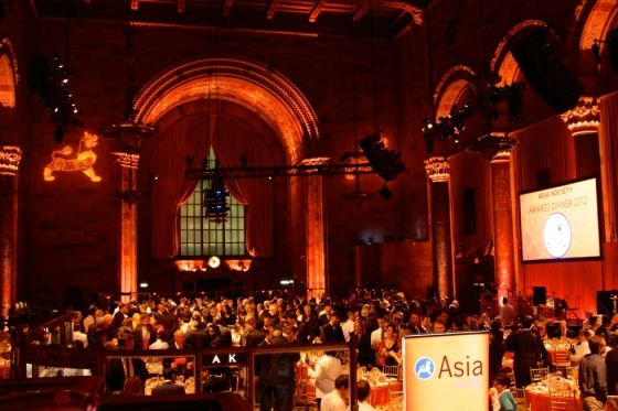 Asia Society's 2012 Awards Dinner was held at Cipriani 42nd Street in New York City on November 8, 2012. (Bill Swersey)