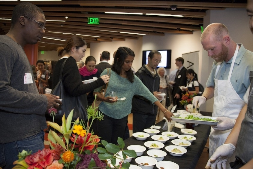 Our first annual Open House and Reception in September featured dance, comedy, and food. (Asia Society)