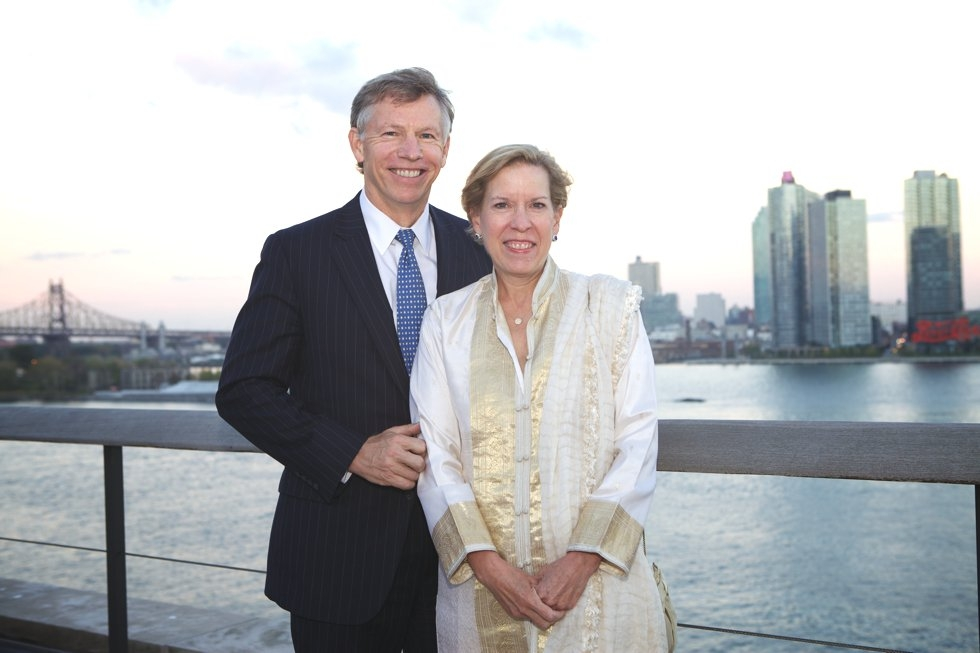 Robert and Kate Niehaus. (Ann Billingsley/Asia Society)