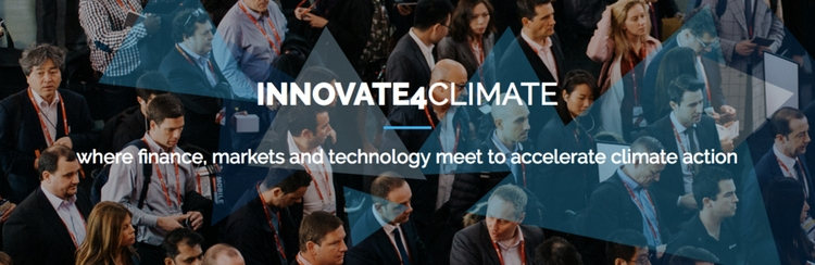 Innovate4Climate: Finance and Markets Week is a global platform on climate finance that brings together multilateral, government, business and private sector leaders to catalyze market-driven climate solutions.