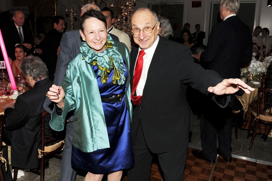 Ruth Newman and Asia Society Trustee Hal Newman. (Billy Farrell)