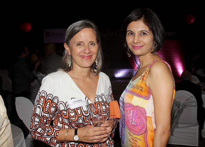 Susan Hapgood, Art Consultant and Moomal Mehta, Deputy Director, Asia Society India Centre