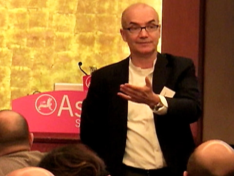 Expert Randel Carlock discusses the importance of entrepreneurial families in the 21st century at the Asia Society Hong Kong Center on Dec. 10, 2010. (2 min., 39 sec.)