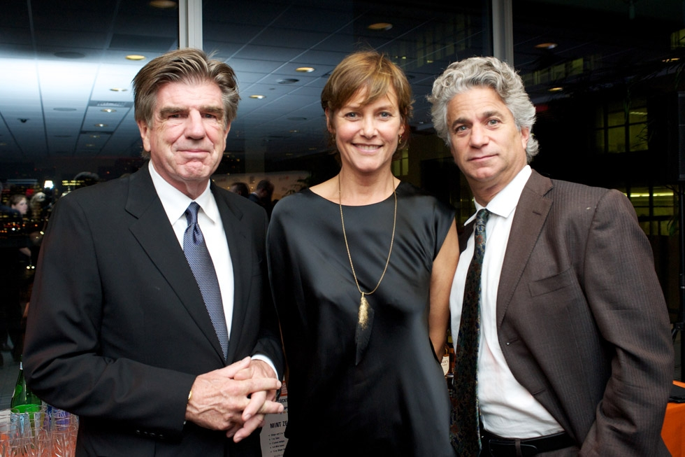 Tom Freston, Carey Lowell, and Joe Ravitch. (Ann Billingsley/Asia Society)