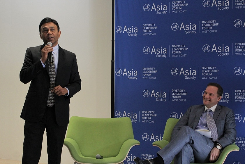 Vipul Sheth of Medtronic and David Reid of Asia Society co-presented about the APA Corporate Survey (Stesha Marcon).